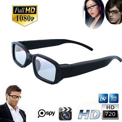 New HD 720P Spy Camera Glasses Hidden Eyewear DVR Video Recorder Cam Camcorder