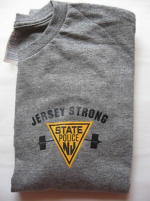 New Jersey State Police - Jersey Strong -  Long Sleeve - -Size - Xl