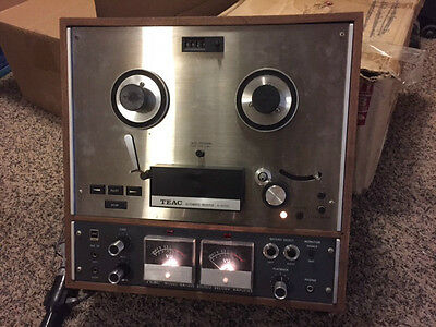 Teac A-4010S Reel to Reel Tape Deck - Nice Cosmetic Condition