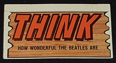 1964 - Topps - Beatles Plaks - Trading Card - #55