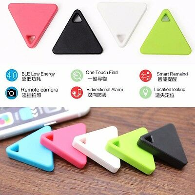 Pet Child Wallet Key Finder GPS Locator Alarm Bluetooth Smart Mini Tag Tracker