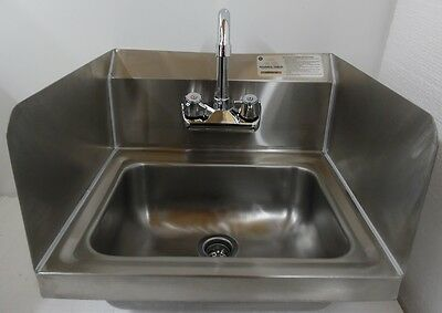 Advance Tabco Hand Washing Sink Total Surround Guard 7-PS-EC-SP Economy