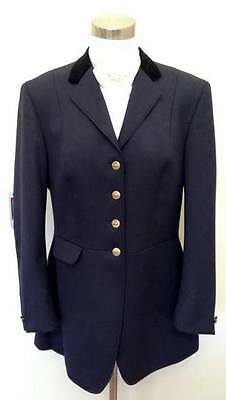 EURO STAR Show, Dressage, Riding Jacket - NAVY -S- 14 - Used Excellent Condition