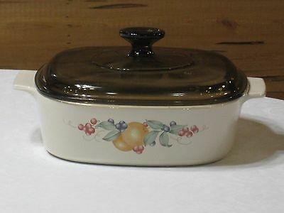 Vintage Corning Ware Abundance  A-2-B Casserole with Lid