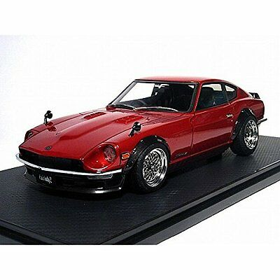 NEW Ignition model 1/18 Nissan Fairlady Z (S30) Red IG0651 Model
