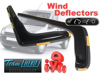 Ford Transit Connect 2004- Wind Deflector 2 pcs HEKO (15231) NEW