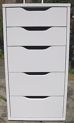 IKEA 5-drawer unit/cabinet/chest made in Germany.  suit beautician, Art & Craft