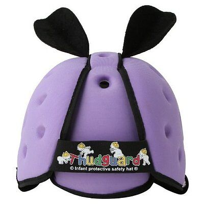 New Thudguard Baby Safety Protective Head Gear Helmet Hat - Lilac