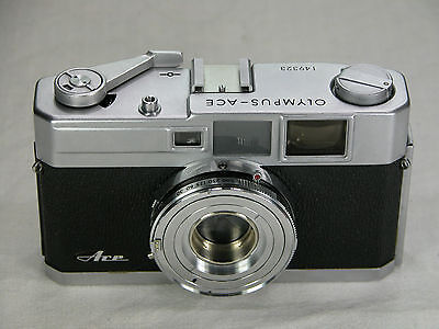 Rare OLYMPUS ACE body Electronically Tested for Accuracy Rangefinder
