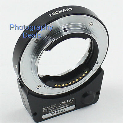 5.0 TECHART LM-EA7 AF Adapter for Leica M Lens to Sony E A7II A7RII A6300 A6500