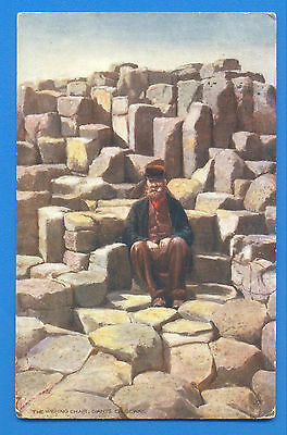 The Wishing Chair,giants Causeway.tucks Oilette Postcard