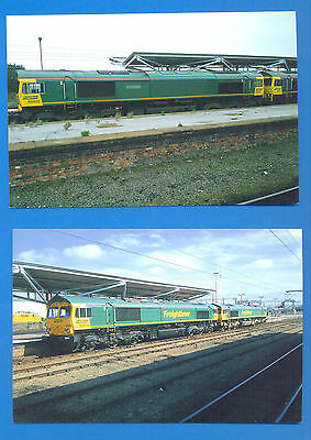 66612 & 66620,66603 AT RUGBY 2005.2 10 x 15cms PHOTOGRAPHS