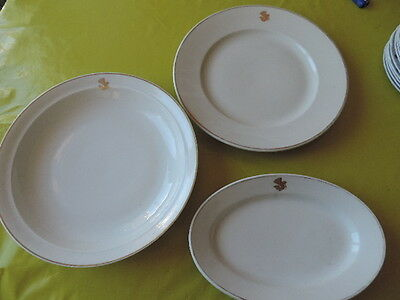 3 Plats Air France Theodore Haviland Limoges France