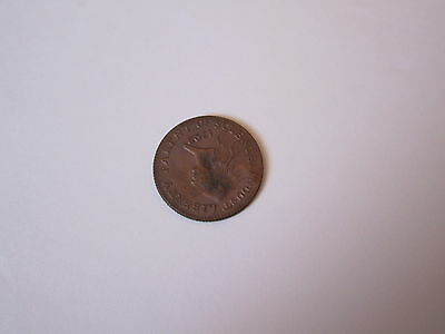 one cent 1792 colonial bronze coin liberty trump stamp
