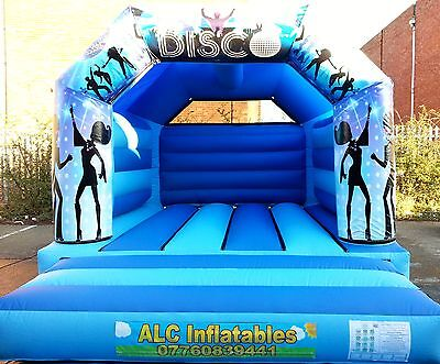 New Design 12 x 15 Bouncy / Disco  Castle 3 in 1