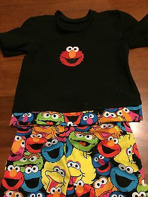 NEW Toddler Kids Sesame Street Pyjamas Sleep Size 2 Boys Girls Elmo