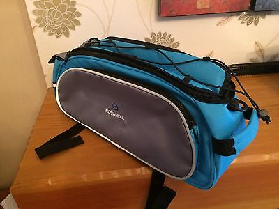 Roswheel Saddle/carry Bag With Shoulder Strap Bicycle Bag
