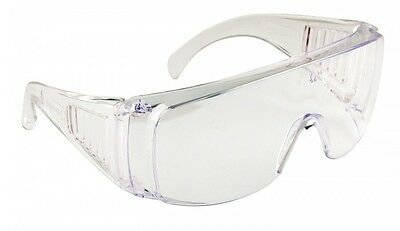 Visitor Safety Glasses Spectacles Over Specs Eye Protection Overspecs PW30