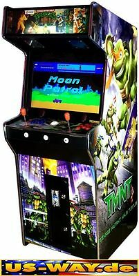 G-966T Classic Arcade Machine Cabinet TV Video Spielautomat Jamma 3500 Games