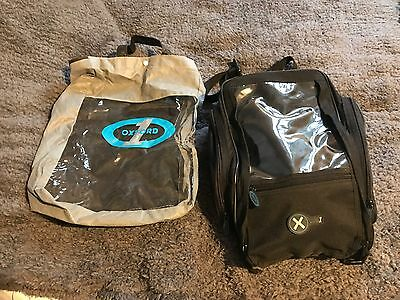 Oxford Tank Bag Motorcycle 18 Litre 1st Time Luggage