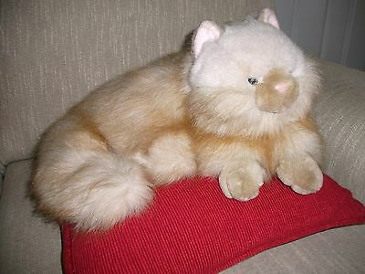 Life size Persian Soft Toy Cat