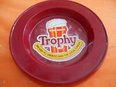 Old Vintage Whitbread Ashtray - Trophy  Brewery - Ornamin Melamine