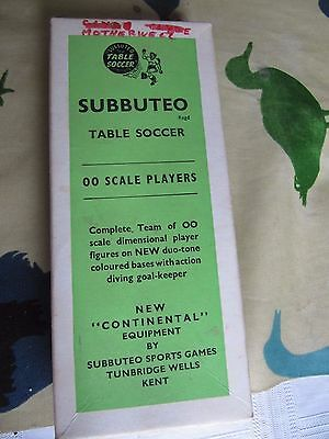Vintage Subbuteo 00 scale players, Motherwell