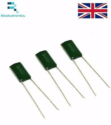 Polyester Film Capacitor 1000V Rate - Values between 1NF- 10NF - Free Post