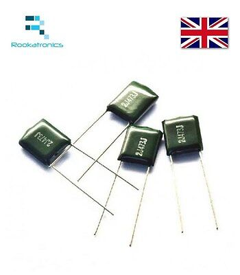 Polyester Film Capacitor 630V Rate - Values between 1NF- 47NF - Free Post