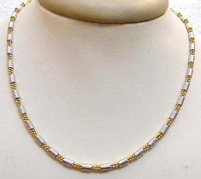 12 Pics Wholesale Lot Ethnic Indian Fashion Jewelry Chain Gold Silver Plated