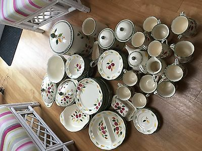 82 Piece Marks & Spencer Damson In Pottery
