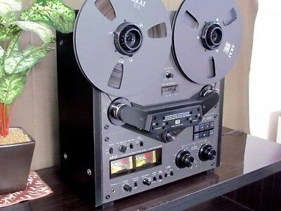 Excellent! AKAI GX-635-BL 4 Track Stereo Vintage Tape Deck Reel to Reel Recorder