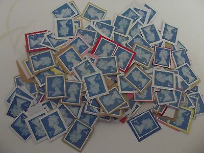 200 2rd class unfranked stamps on paper