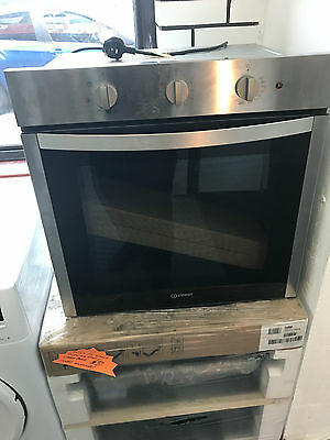 INDESIT Aria single Electric fan  Oven Stainless Steel DFW 5530 IX
