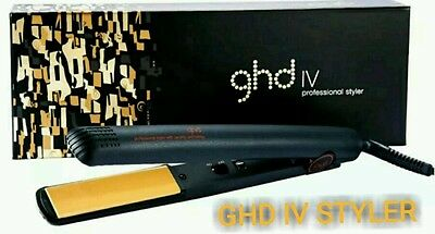 *  GHD IV Styler Ceramic Professional Hair Straighteners -Genuine-