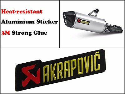 Akrapovic Sticker Exhaust Decal Pipe Racing Stickers Heat Resistant Proof Logo