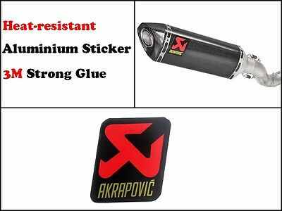 Akrapovic Sticker Exhaust Decal Pipe Racing Stickers Heat Resistant Proof Label