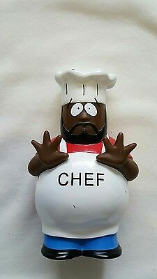 """south park figure chef 5.5"""" 1998 collectable"""
