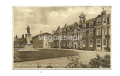 Berkshire: Windsor : King Edward Vii Hospital - Old Frith Postcard