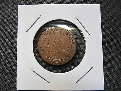 Arizona State Tax Commission Coin Token ~ To Make Change ~ EXC