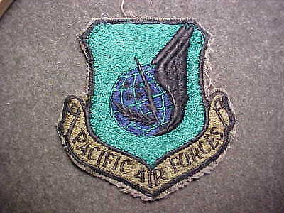 Old Original Us Army Pacific Air  Forces  Shoulder Insignia Patch