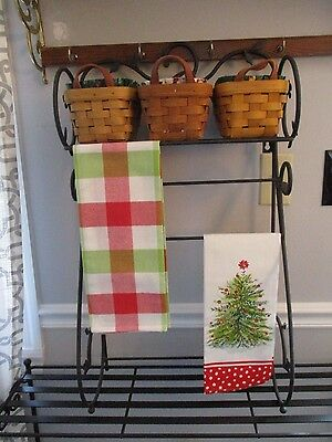 LONGABERGER  Wrought Iron Shelf (DOGWOOD STAND) Retired HTF (no baskets)
