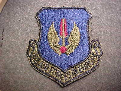 Old Original Us Army Air Forces In Europe Shoulder Insignia Patch