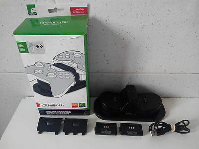 Cargador Doble SpeedLink - Twing Dock USB Dual Charger - Para Xbox One