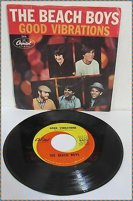 The Beach Boys, Good Vibrations / Let's Go Away For A While, Capitol 5676, 1966