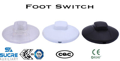 3A 250VAC On-Off Cord Line Foot Switch Rocker Push Button Switch Lamp Electrical
