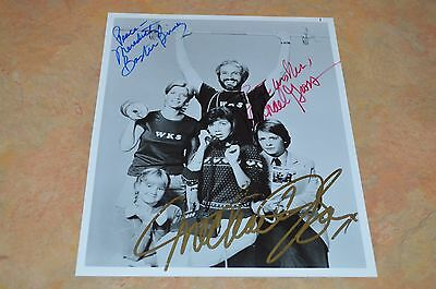 Family Ties Cast Signed 8X10 Photo!!! Must See!!!