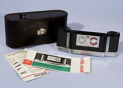 Zeiss Ikon Interchangeable Back * For Contarex * Mint & Cased