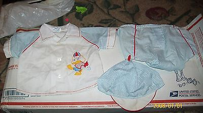 FITS CABBAGE PATCH SOFT SCULPTURE BABY doll CLOTHES    boys BLUE