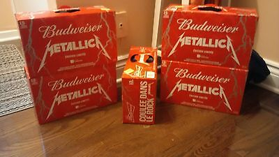 Metallica Beer - Full cans 15 Pack UNOPENED limited edition